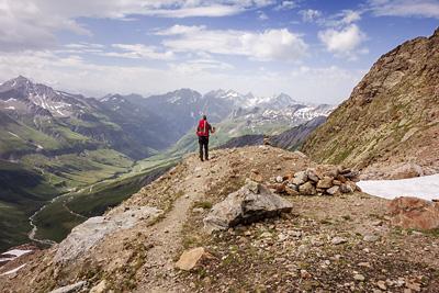 photo montagne alpes beaufortain mont blanc glacier des glaciers moraine