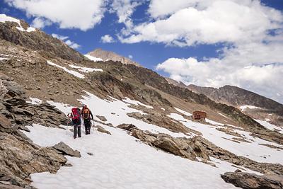 photo montagne alpes beaufortain mont blanc refuge robert blanc