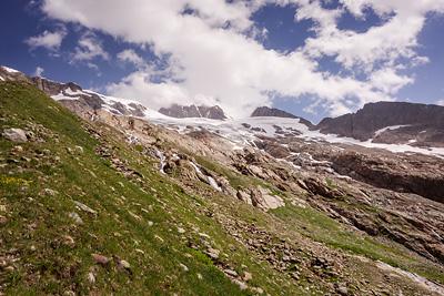 photo montagne alpes beaufortain mont blanc glacier des glaciers