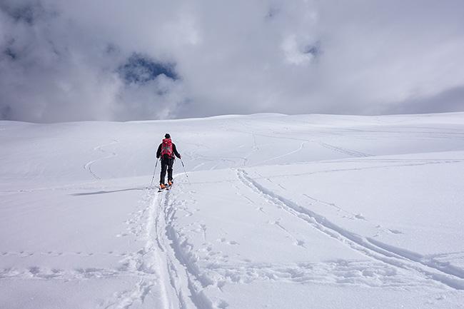 photo montagne alpes randonnée rando ski savoie vanoise dos cret voland verdet