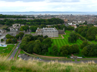 photo ecosse edimbourg Holyrood Palace