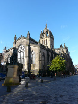 photo ecosse edimbourg st giles cathedral