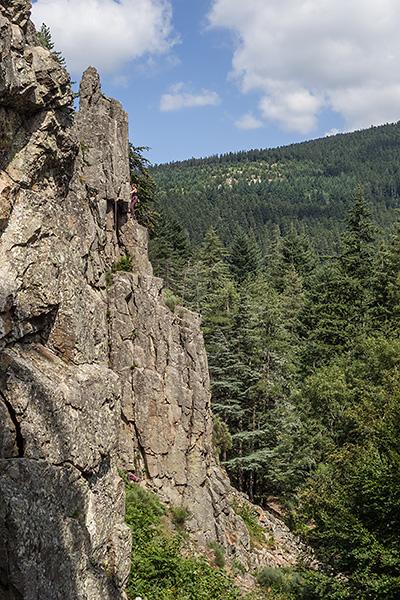 photo montagne pilat escalade lyon saint etienne doizieux