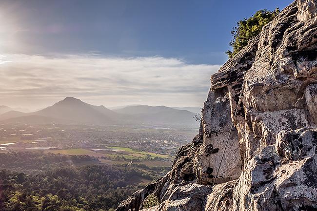 photo montagne vars escalade toulon fenouillet