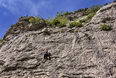 photo montagne alpes escalade baronnies hautes alpes orpierre chateau cascade