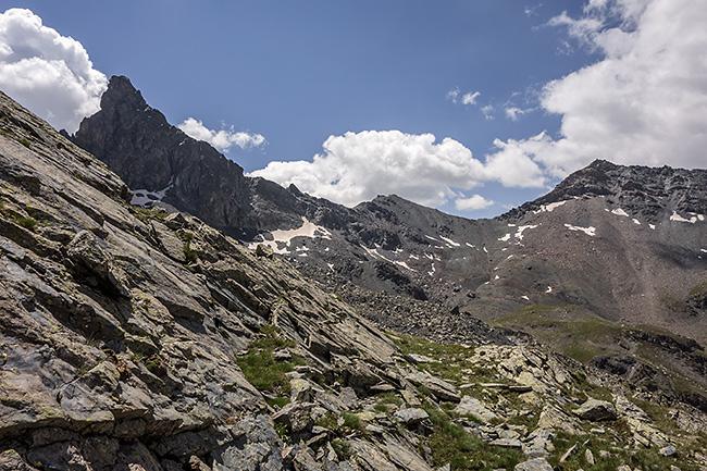 photo montagne alpes escalade queyras saint veran vallon blanche rocca bianca cheikh mama