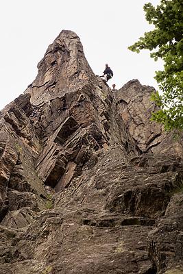 photo montagne escalade roche corbiere rochetaille pilat loire saint etienne