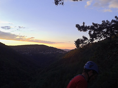 photo montagne escalade pilat roche corbiere rochetaillée planfoy