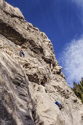 photo montagne escalade aravis rocher col