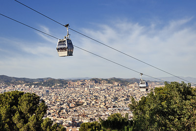 photo espagne barcelone tourisme montjuic