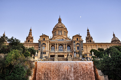 photo espagne barcelone tourisme musee catalogne