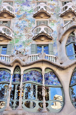 photo espagne barcelone casa battlo gaudi