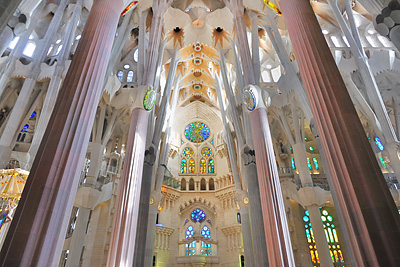 photo espagne barcelone sagrada familia
