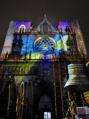 photo lyon fete des lumieres