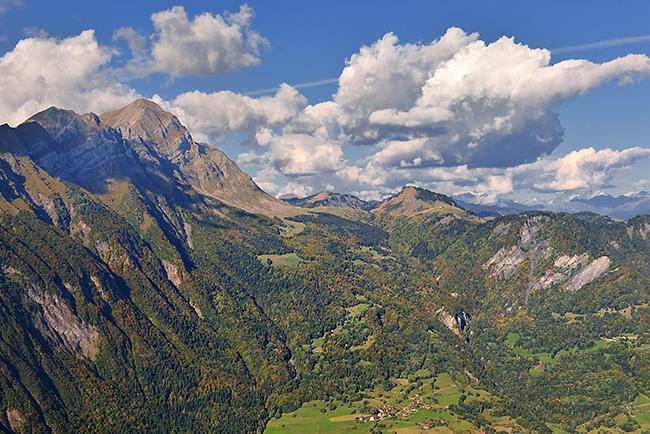 photo montagne alpes randonnée rando savoie bauges albertville fort batterie marthod