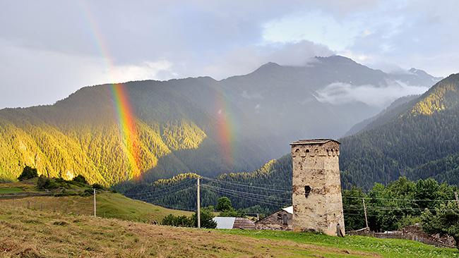 photo voyage asie centrale europe caucase georgie svanetie mestia ushguli treck randonnée rando