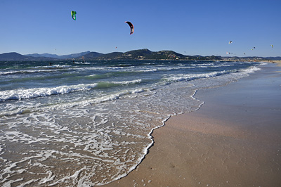 photo gien kitesurf plage