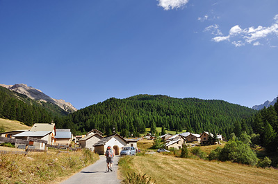 photo montagne alpes randonnée GR5 queyras briancon chalets ayes