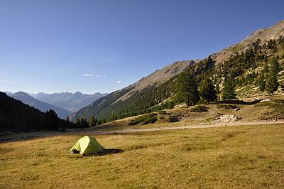 photo montagne alpes randonnée GR5 queyras briancon col ayes bivouac