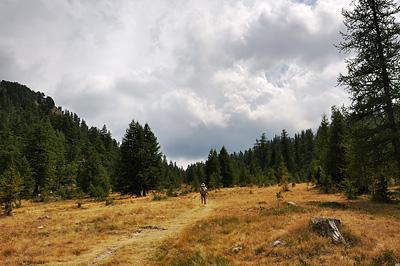 photo montagne alpes randonnée GR5 GR52 mercantour col salèse