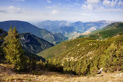 photo montagne alpes randonnée GR5 GR52 mercantour col veillos