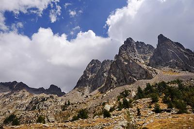 photo montagne alpes randonnée GR5 GR52 mercantour madone fenestre