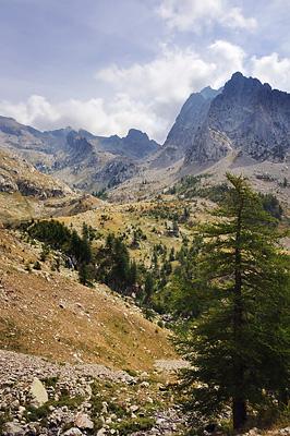 photo montagne alpes randonnée GR5 GR52 mercantour pas ladres