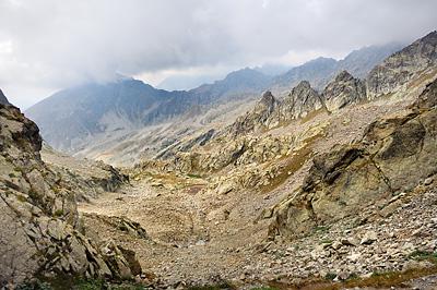 photo montagne alpes randonnée GR5 GR52 mercantour pas mont colomb