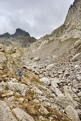 photo montagne alpes randonnée GR5 GR52 mercantour madone fenestre pas mont colomb