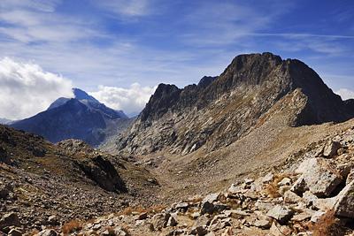 photo montagne alpes randonnée GR5 GR52 mercantour baisse basto