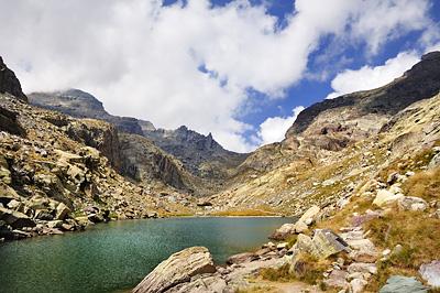 photo montagne alpes randonnée GR5 GR52 mercantour vallee merveilles lac