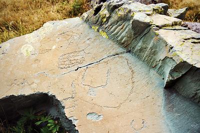 photo montagne alpes randonnée GR5 GR52 mercantour vallee merveilles gravures rupestres