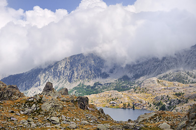 photo montagne alpes randonnée GR5 GR52 mercantour vallee merveilles lac long