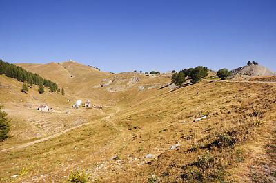 photo montagne alpes randonnée GR5 GR52 mercantour