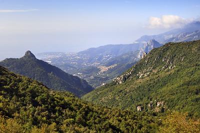 photo montagne alpes randonnée GR5 GR52 mercantour sospel col razet