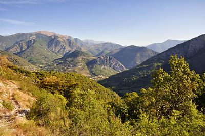 photo montagne alpes randonnée GR5 GR52 mercantour sospel albarea