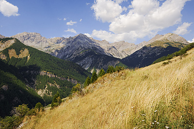 photo montagne alpes randonnée GR5 queyras
