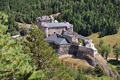 photo montagne alpes randonnée GR5 queyras chateau