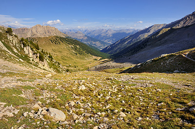 photo montagne alpes randonnée GR5 queyras briancon col ayes