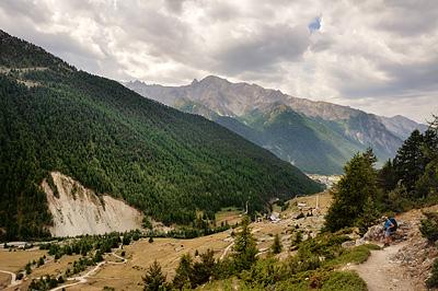 photo montagne alpes randonnée GR5 queyras col fromage ceillac