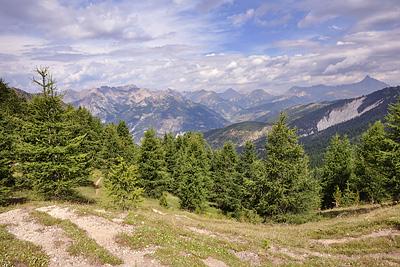 photo montagne alpes randonnée GR5 queyras col fromage