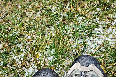 photo montagne alpes randonnée GR5 queyras lac miroir