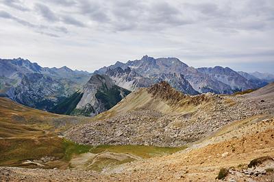 photo montagne alpes randonnée GR5 ceillac col girardin chambeyron ubaye