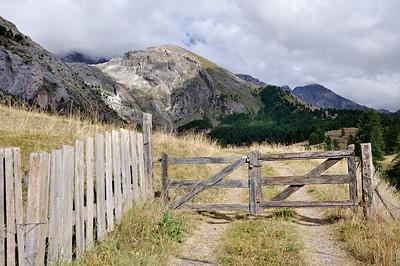 photo montagne alpes randonnée GR5 fouillouse
