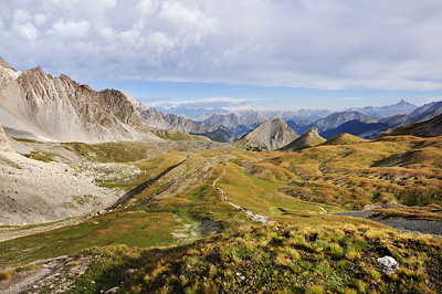 photo montagne alpes randonnée GR5 ceillac col girardin vallon sainte anne