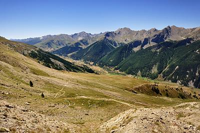 photo montagne alpes randonnée GR5 col mallemort larche mercantour