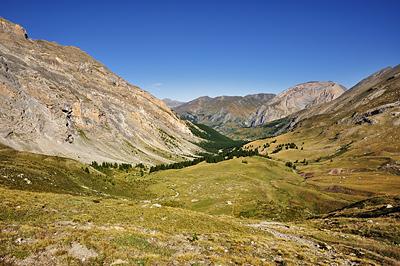 photo montagne alpes randonnée GR5 fouillouse vallon plate lombarde col vallonnet