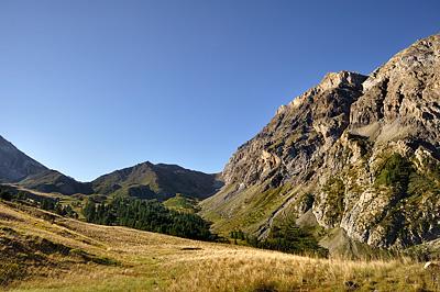photo montagne alpes randonnée GR5 fouillouse vallon plate lombarde