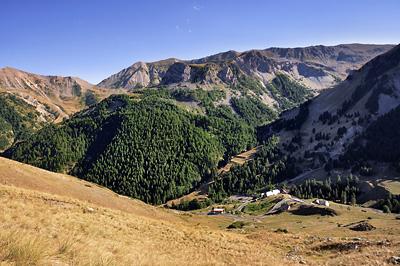 photo montagne alpes randonnée GR5 mercantour bousieyas