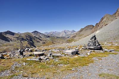 photo montagne alpes randonnée GR5 mercantour pas cavale